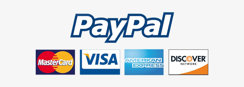 100% secure payment guarantee by Paypal