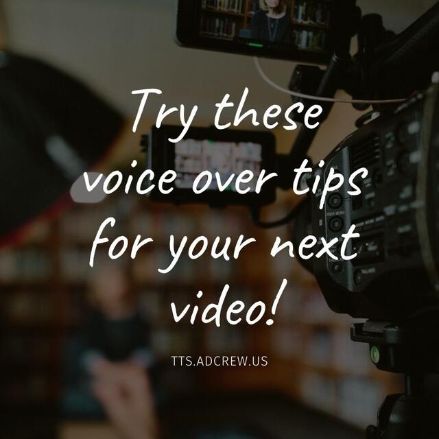 The voice over solution you have been looking for, brought to you by CKE